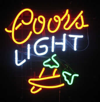 coors chili Neonreklame neon signs