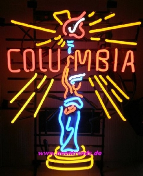 Neonreklame Columbia Movie Film neon signs