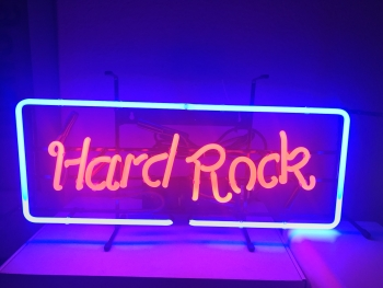 Musik metall Neon sign light Neonreklame cafe Display signs news