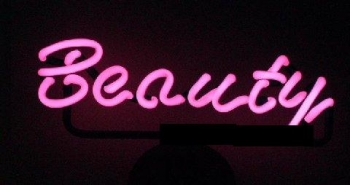Beauty neon signs Kosmetik Neonleuchte Tables sign Werbung