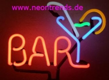 Bar & Drinks Neonleuchte Neonschild Cocktails Neon sign news