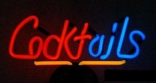 Cocktails Neonreklame Neonleuchte Bar neon signs news