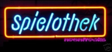 Spielothek open Casino Neonreklame Neon sign news