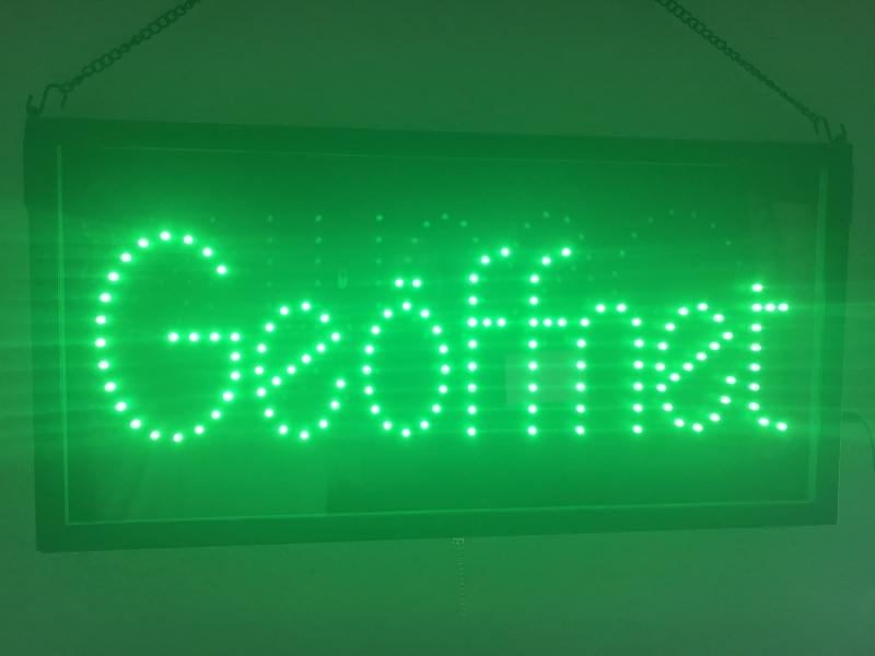 Uitgelezene LED Welcome Panel Bord Leds Schild XS-08