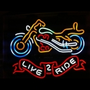 Motorrad Bike Motorcycles Live Ride neon signs Neonreklame news