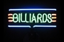 Billiards Neon Tables Neonreklame Leuchtreklame