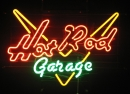 Neonreklame Hot Rod Garage signs
