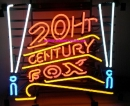 20th Century Fox neon sign Neonreklame Neonwerbung
