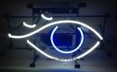 Eye Auge neon sign light signs Reklame Neonreklame Neonschild