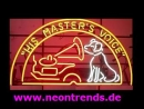 His Masters Voice Neon sign retro cult Musik light signs