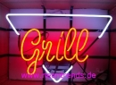 Grill Neon signs advertising Reklame signs