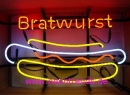 Bratwurst Neonreklame Werbung Reklame Currywurst HOT DOG news