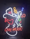 Country Live Musik Cowboy Neonreklame neon signs Leuchtreklame