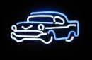 Cars blue Auto Neonleuchte Neon sign light Tables Neonreklame