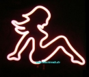 PIN UP GIRL Neonleuchte neon sign Tables light retro cult news