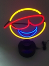 Smiley Neonleuchte neon sign lachen Neonreklame Neondisplay news