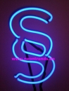 § Paragraphen Neonleuchte neon sign light Anwalt advokat Berater