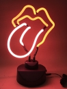 tongue red Zunge ROCK & ROLL stones Neon sign Neonleuchte Neonla